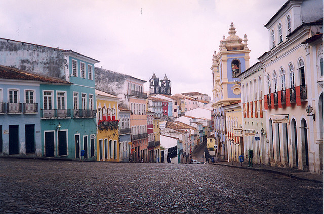 Walking the streets of Salvador is one of many things to do in Brazil