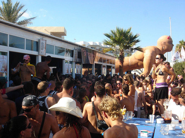 best places to party in Europe, Ibiza, Spain